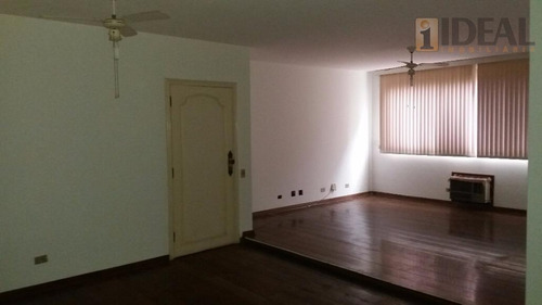 Apartamento Com 3 Dormitórios À Venda, 152 M² Por R$ 950.000,00 - Gonzaga - Santos/sp - Ap1475
