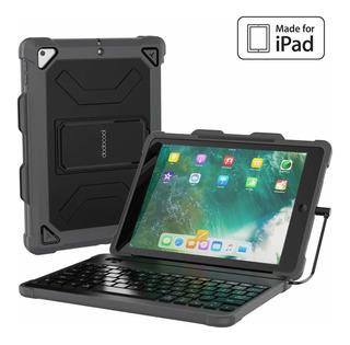 Funda Con Teclado Para iPad 9.7 2018 6th Gen (negro)