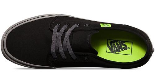 Zapatillas Vans Mod Vulcanized 106 Negro Gris Fluo!!! | MARKUS2680