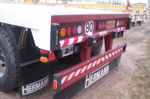 Semi Remolque Playo Hermann 1 + 1 ( 2.014 )