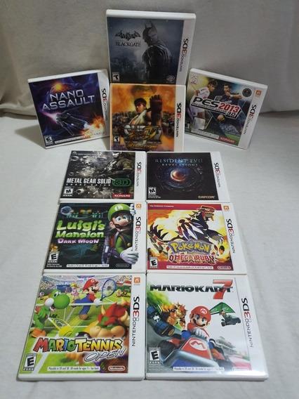 Jogo Nintendo 3ds - Combo Com 11 Jogos Originais