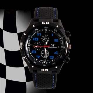 Reloj Hombre- Silicona - Analogico -sport- Gt -oferta!!!