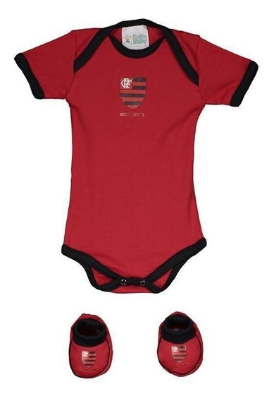Kit Body Flamengo Colorido