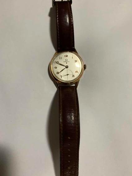 Relógio Ômega De Ouro Estrela Vermelha.