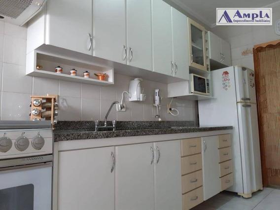 Excelente Apartamento Com 3 Dormitórios, Sendo 1 Suite À Venda, 83 M² Por R$ 695.000 - Tatuapé - São Paulo/sp - Ap1155