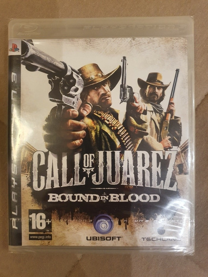 Jogo Call Of Juarez Bound In Blood - Ps3
