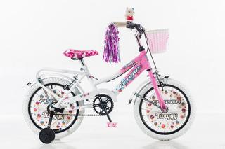 Bicicleta Futura Rodado 16 Twiggy Con Canasto 4045 18c