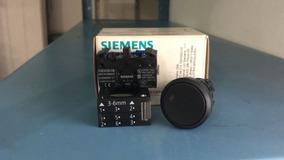 Botão De Comando Pt, 1na, 22mm, Ip66, Pulsador, Siemens