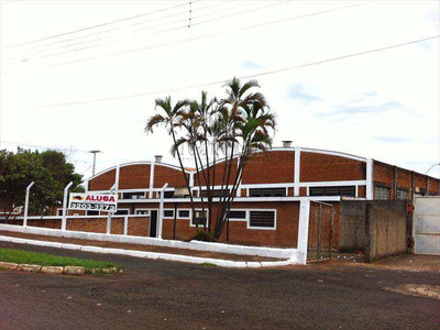 Armazém/barracão Em Jaboticabal Bairro Parque Industrial Bruno Verardino - V248600