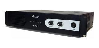 Potencia Amplificador Apogee H12 450w + 450w 4ohms Audio Pro