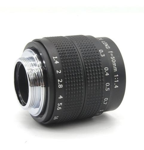 Lente Sony 50mm F1.4 Full Frame E-mount Nex 7 5 3 A7s Ii 5n