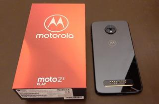 Motorola Z3 Play + Moto Mods Jbl Garantía