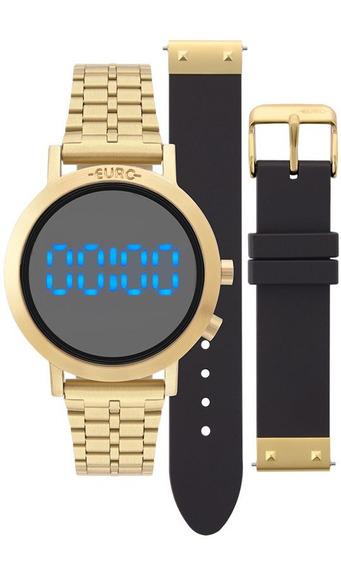 Relógio Euro Feminino Digital Eubj3407aa/t4p