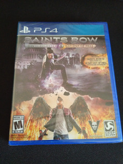 Saints Row Iv: Re-elected + Gat Out Of Hell Ps4 Nuevo Sellad