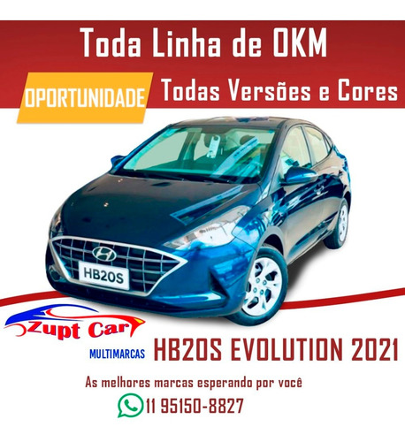 Hb20s 2021 Evolution Completo Carro Para Aplicativo