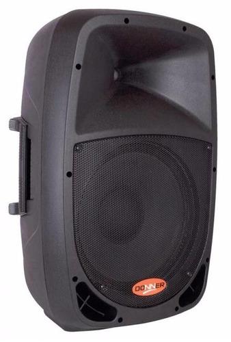 Caixa Som Acústica Ll Donner Dr1010a Ativa Bt/sd 120w Rms