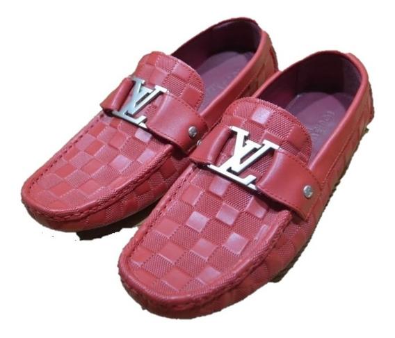 Mocasines Zapatos Louis Vuitton Lv Montecarlo Envío Gratis