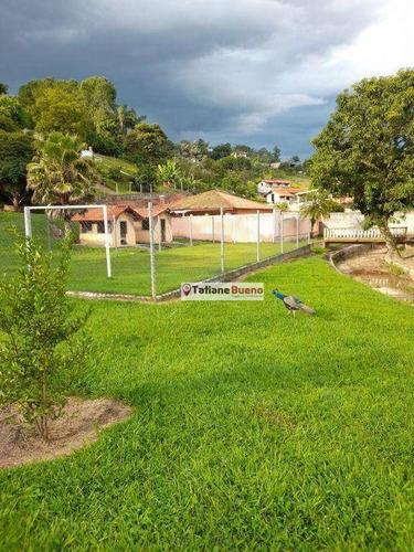 Chácara Com 6 Dormitórios À Venda, 770 M² Por R$ 1.500.000 - Chácaras Reunidas Igarapés - Jacareí/sp - Ch0070