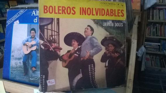 Lp Boleros Inolvidables