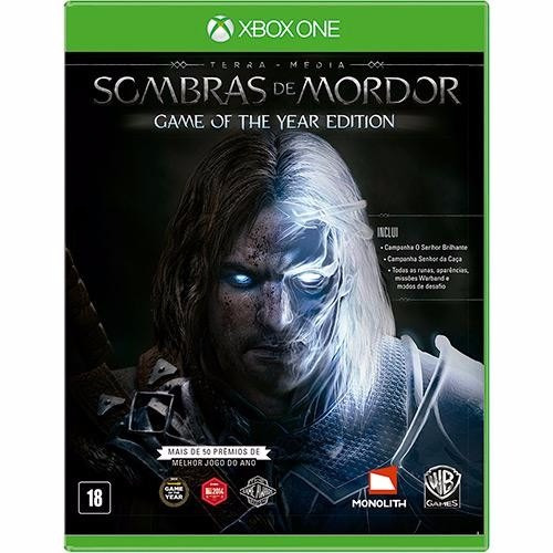 Jogo Xbox One - Sombras De Mordor Game Of The Year