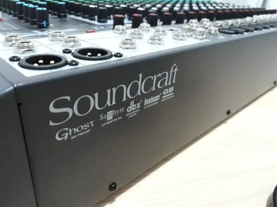 Mesa De Som / Interface De Audio Soundcraft Signature 22 Mtk