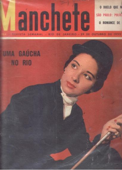 Manchete 1955.belém.policia Feminina De Sp.amalia Rodrigues