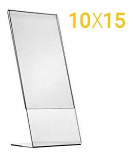 5 Porta Retrato Acrilico 10x15