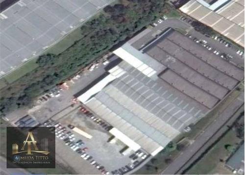 Imagem 1 de 7 de Excelente Galpão À Venda  Jardim Belval - Barueri/sp  Área Total De Terreno 20.589,73 M²  Confira! - Ga0220