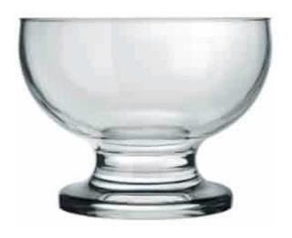 24 Copa Paulista De Cristal 200ml Marca Nadir Caja 24 Pz