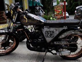 Moto Cafe Racer Cagiva Elefantre