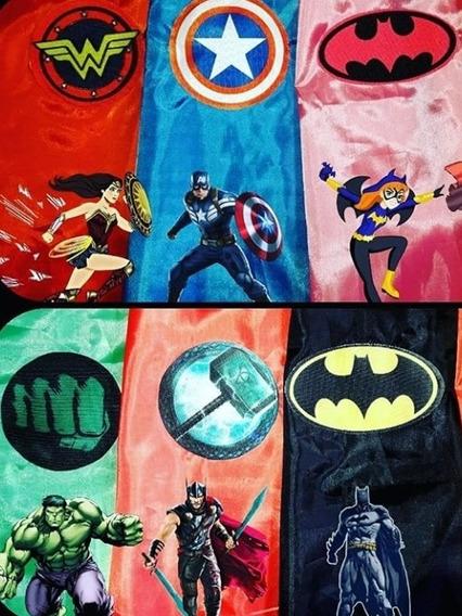 Capas Souvenir Superhéroe Y Otros