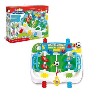 Futbolito Mi Primer Futbolin Electronico Con Voz Y Educativo