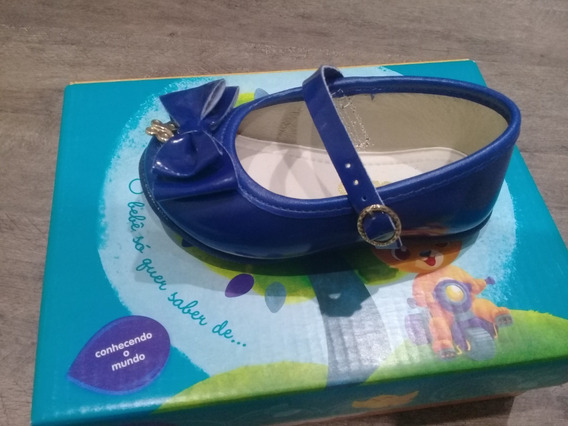 Sapatilha Infantil Pimpolho Azul