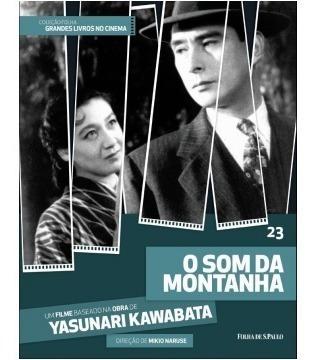 Dvd + Livro O Som Da Montanha - Yasunari Kawabata - Vol 23