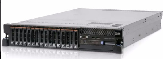 Server Ibm X3650m3 - 2 Proces Xeon 3,6ghz+2 Fontes+24 Gb