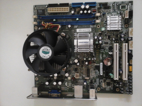 Kit Placa Mae Desktop Hp 945gz7mc + Intel Dual Core E2180