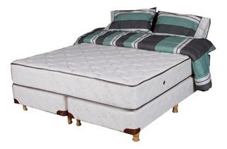Colchon Y Sommier 2 X 2 Somier Doble Pillow