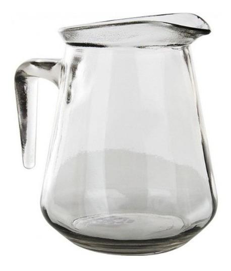 Jarra 1lt Vidrio Agua Gaseosa Vino Bar Agua Resto Oferta Cv