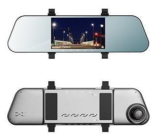 Ehoom Mirror Dash Cam A8, Vista Frontal Hd Cam, Pantalla Xr