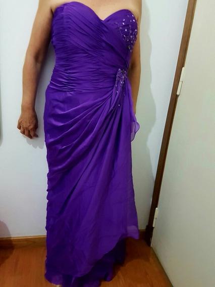 Vestido De Fiesta, Ideal Para Madrina