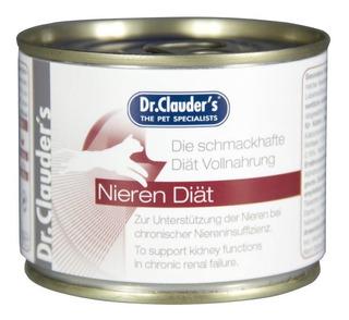 Alimento Lata Dr. Clauder`s Nieren Diat Renal Par Gatos 200g