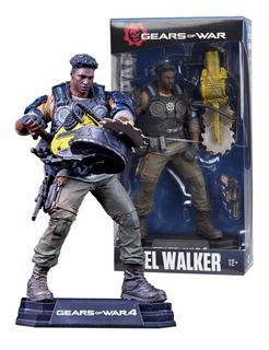 Gears Of War 4 Del Walker Color Tops ( Original) Mcfarlane
