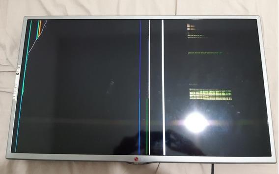 Tv LG 32ly340c Com Defeito Tela Trincada