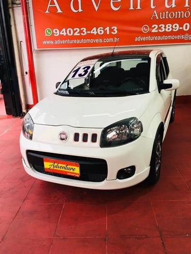 Fiat Uno 1.4 Sporting Flex Ano:2013 Branco Completo