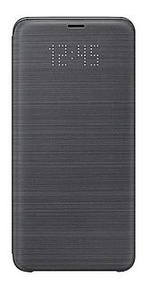 Funda Samsung Galaxy S9 Led View Cover Black Ef-ng960