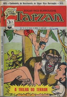 1975 Hq Quadrinhos Tarzan Nº 16 - 4ª Série Editora Ebal