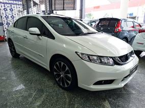 Honda Civic 2.0 Exr Flex Automático, Teto Solar
