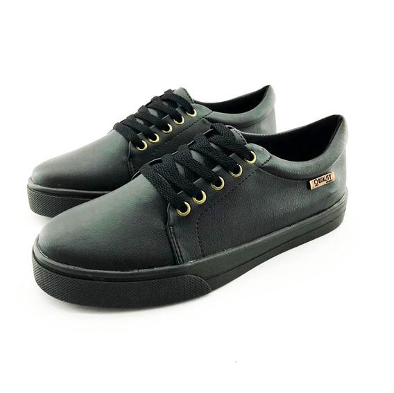 Tênis Quality Shoes Feminino 007 Preto