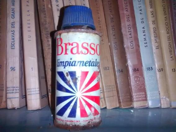 Brasso Limpiametales - Botella De Lata - Retro