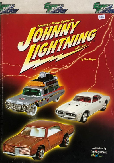 Catálogo Tomarts Price Guide 2001 Johnny Lightning